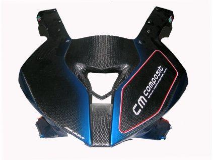 Přední maska CM COMPOSIT pro RACING BMW S1000RR r. 2009-13 SKLOLAMINÁT