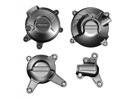 Sada ochranných krytů motoru GB RACING - YAMAHA MT09 / FZ09 / Tracer & Scrambler 2014-2020