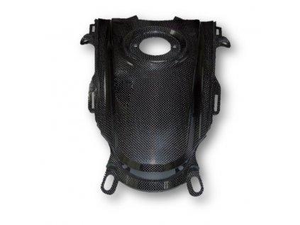 Kryt nádrže horní CM COMPOSIT pro DUCATI Hypermotard 2013 CARBON