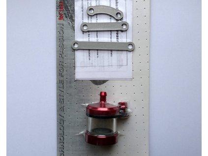 Nádobka brzdové/spojkové kapaliny LLS Titanium - ERGAL
