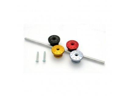 Záslepky trubkového rámu CNC Racing - DUCATI 848/1098/1198