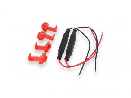 Sada odporů (rezistorů) CNC Racing pro LED blinkry na motorku