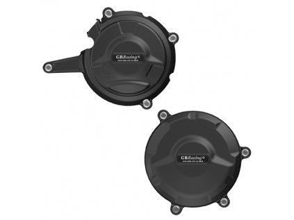 Sada ochranných krytů motoru GB RACING - DUCATI 1199 Panigale 2012-2020