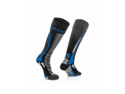 Podkolenky Acerbis MX Pro - černá/modrá