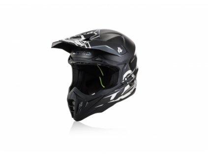ACERBIS motokros přilba Carbon edice 2019 s kšiltem