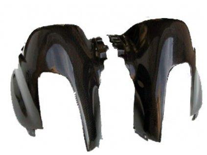Pravý horní díl masky CM COMPOSIT pro Ducati Supersport 1000 DS CARBON