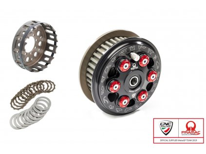 Antihoppingová spojka Pramac limitovaná edice CNC RACING - DUCATI MASTER RACE (6 pružin) - sada