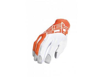 Motokrosové rukavice MX-X-P Acerbis oranžové