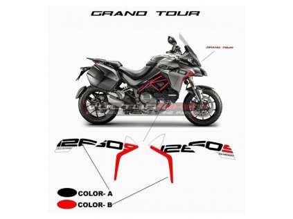 stickers grand tour design sidefairings ducati multistrada 1260 s