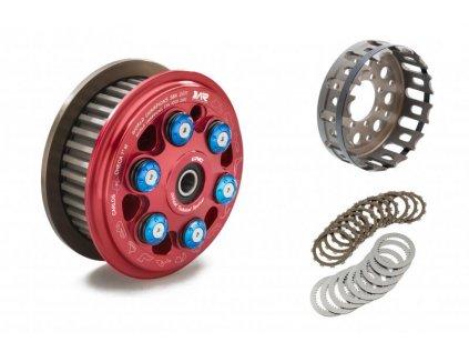 Sada spojky CNC Racing 12 zubů, spojkový koš, lamely a plechy