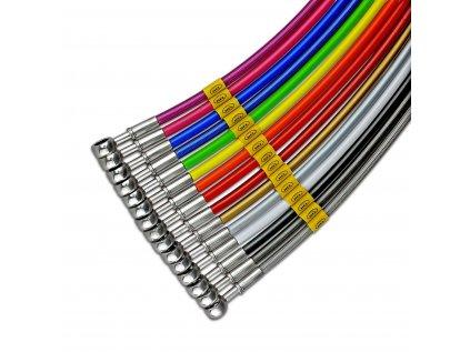 motorcycle brake hoses colours