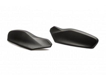 Horní kryt páčky CNC Racing pro Ducati Multistrada - karbon mat