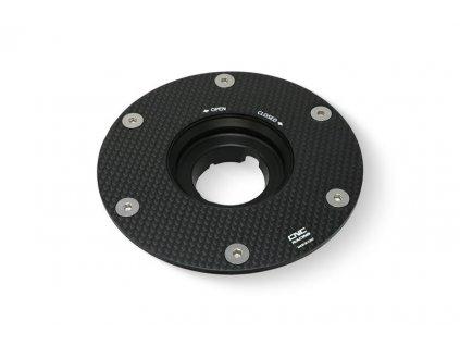 Víčko nádrže rychlouzávěr CNC Racing pro Ducati - karbon