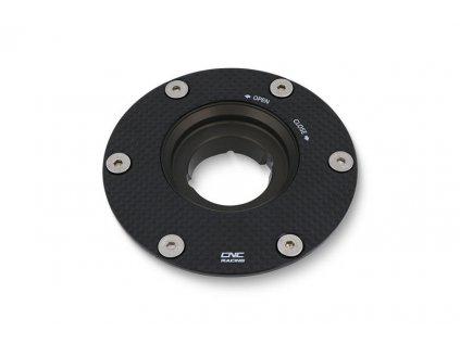 Víčko nádrže rychlouzávěr CNC Racing - karbon
