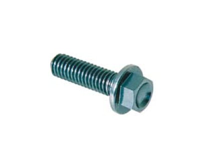 Šroub TER (SPECIAL) - vnější šestihran s límcem,  materiálové provedení AL7075 - ERGAL