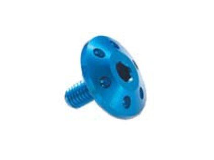Šroub TTLEI Forate (SPECIAL) - M5 - vnitřní šestihran, plochá čočkovitá hlava dekor , materiálové provedení AL7075 - ERGAL