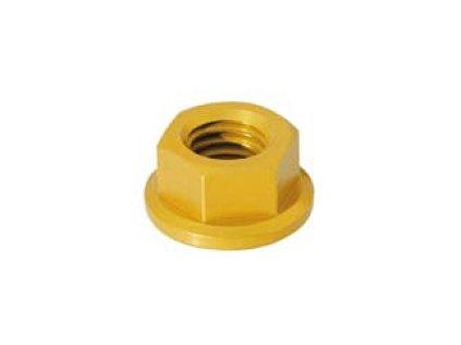 Matice DER (SPECIAL) - šestihran s límcem - materiálové provedení AL7075 - ERGAL
