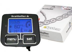 Plně automatické mazání řetězu - elektronický Scottoiler eSystem