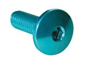 Šroub TCBEI (SPECIAL) - vnitřní šestihran, čočkovitá hlava,  materiálové provedení AL7075 - ERGAL