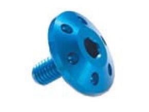 Šroub TTLEI Forate (SPECIAL) - M6 - vnitřní šestihran, plochá čočkovitá hlava dekor , materiálové provedení AL7075 - ERGAL