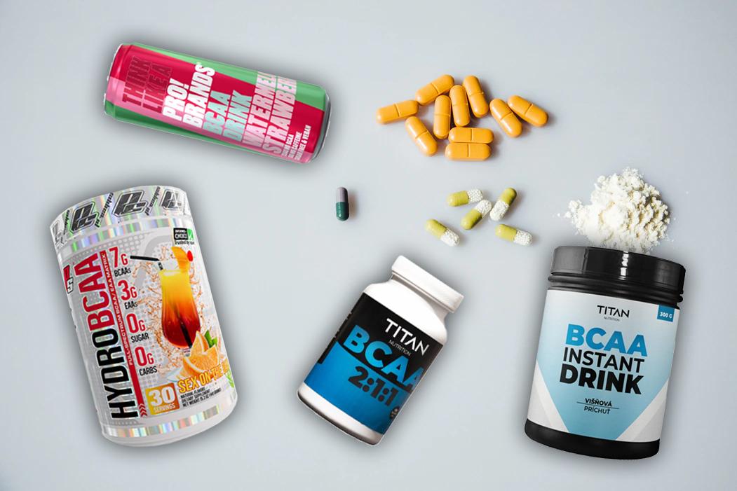 BCAA - Prečo ich užívať a ako vplývajú na rast vašich svalov?