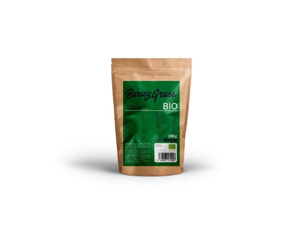 GymBeam Bio Zelený jačmeň 200 g