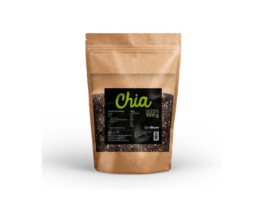 GymBeam Chia semienka 500 g