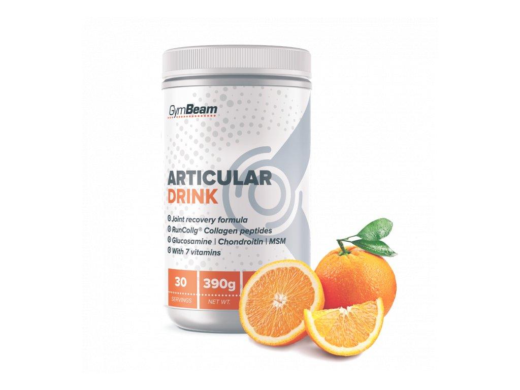 GymBeam Articular Drink orange 390 g