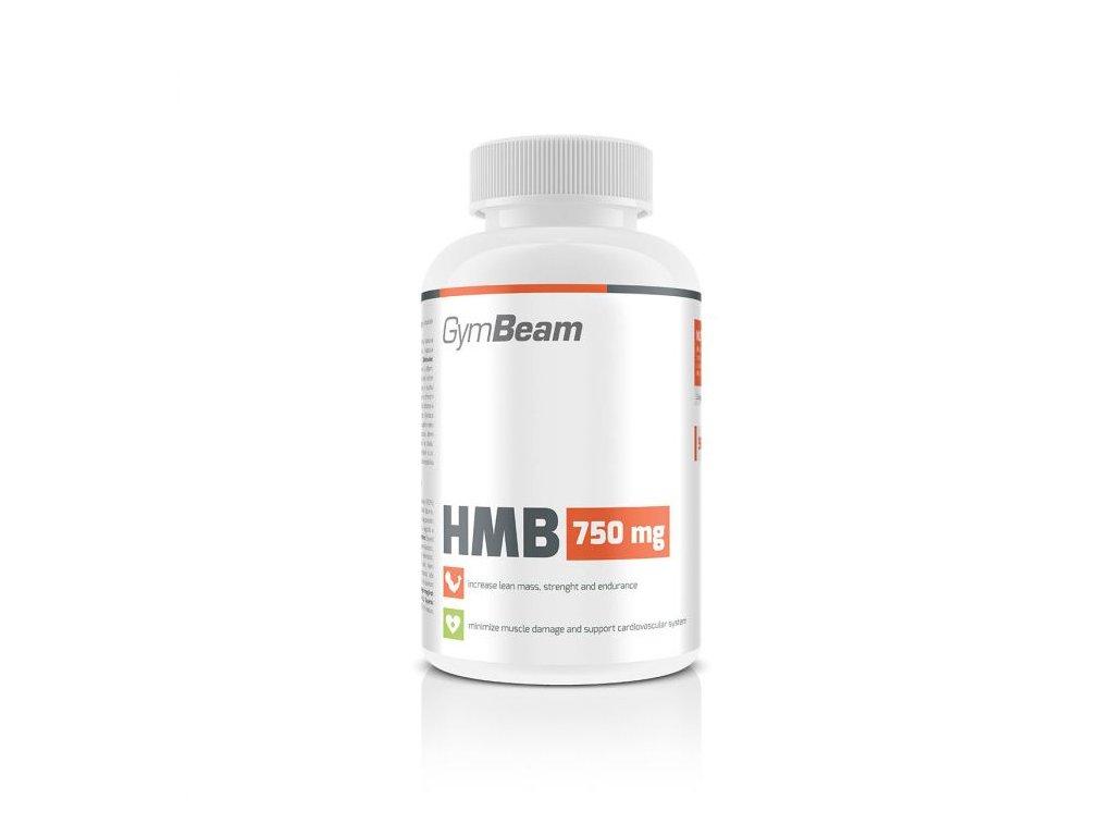 HMB 750mg - GymBeam 120tbl