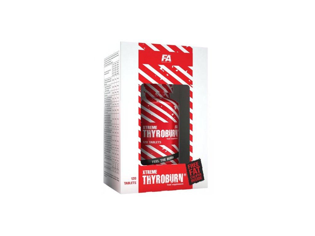 Xtreme Thyroburn - Fitness Authority 120kaps