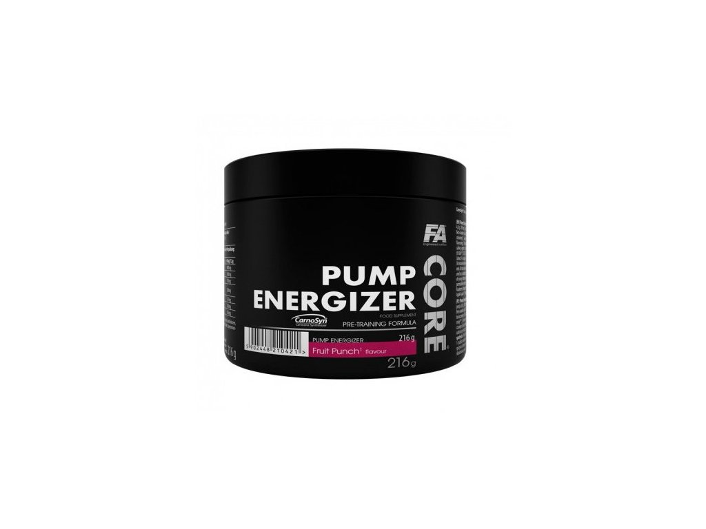Pump Energizer Core od Fitness Authority 216g