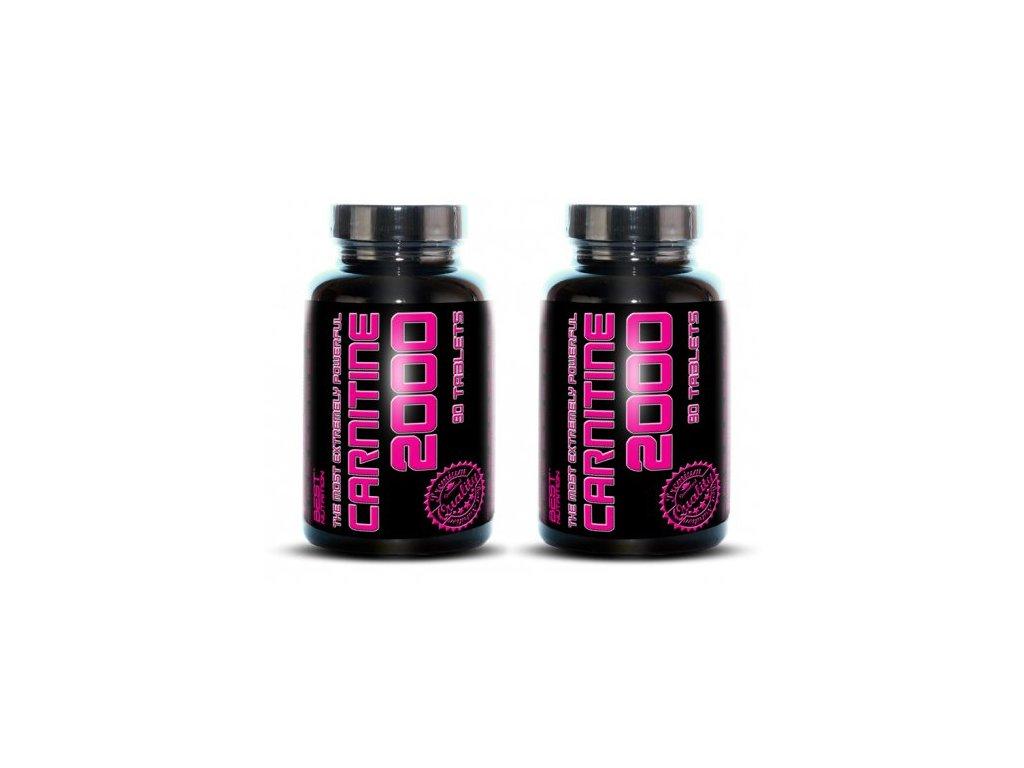1+1 Zadarmo: Carnitine 2000 od Best Nutrition 90tbl+90tbl