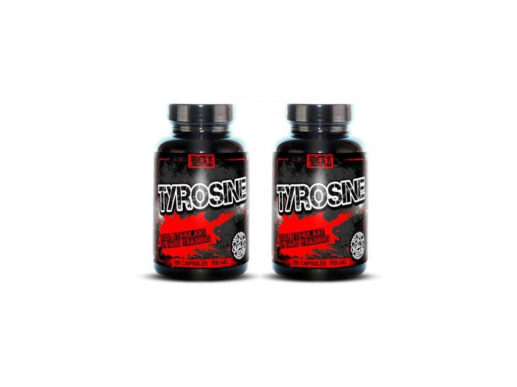 1+1 Zadarmo: Tyrosine od Best Nutrition 120tbl+120tbl