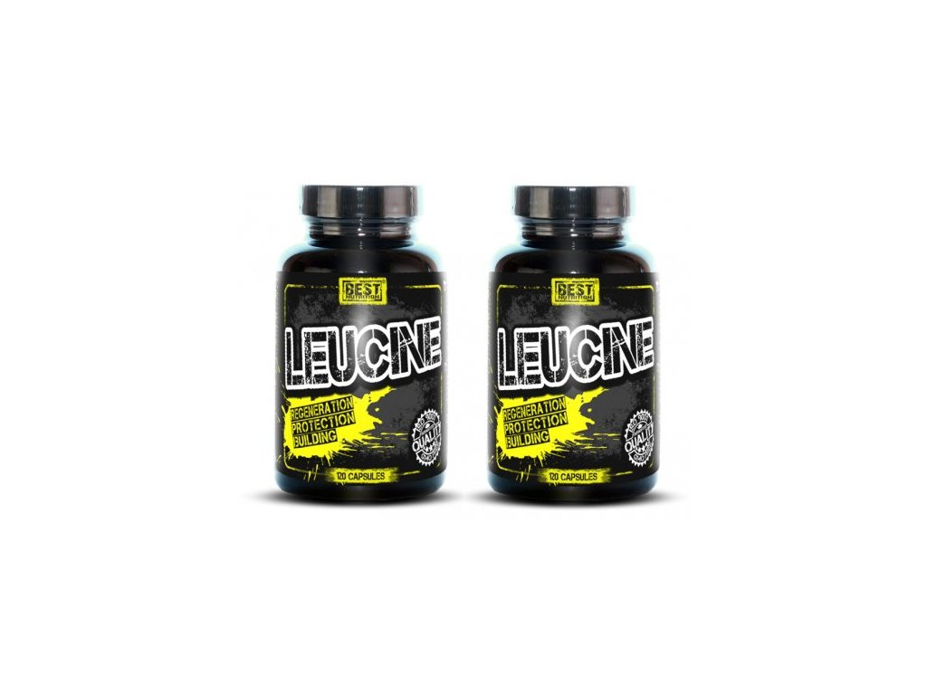 1+1 Zadarmo: Leucine od Best Nutrition 120tbl+120tbl