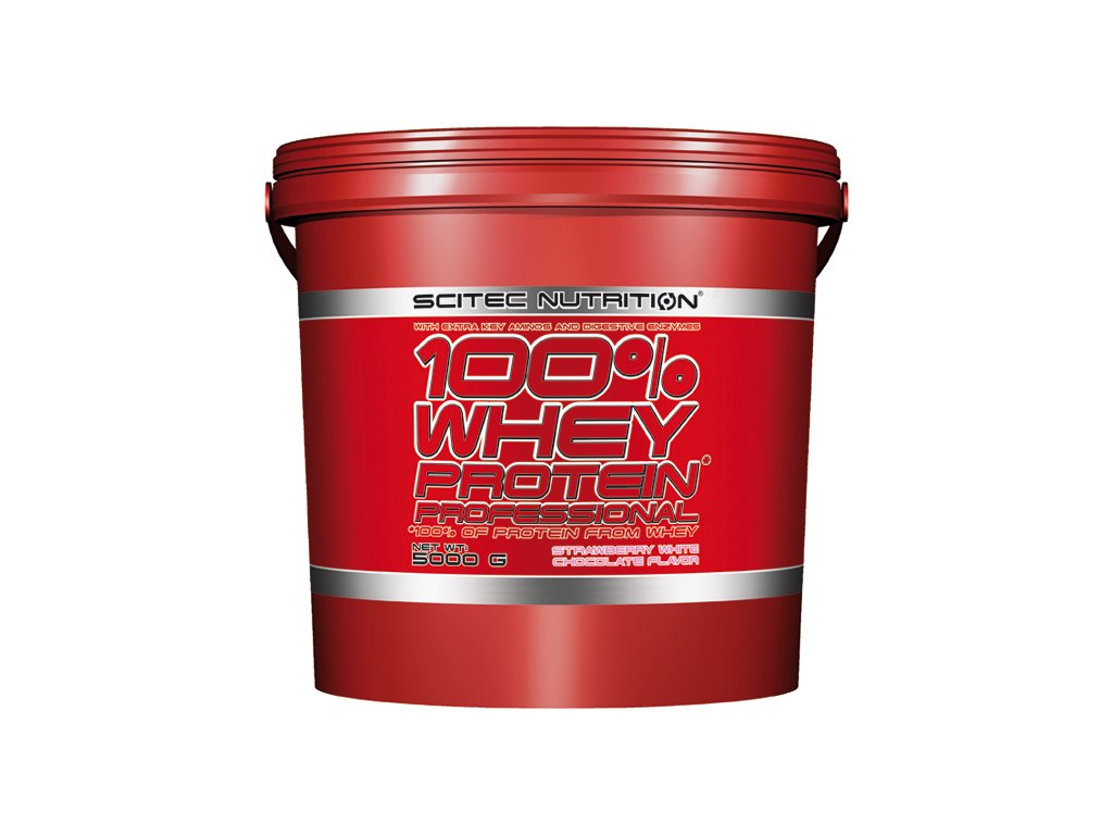 scitec 100 whey protein pro 5000g strawberry white chocolate old
