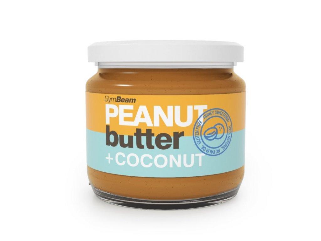 peanut butter coconut honey 340 g gymbeam