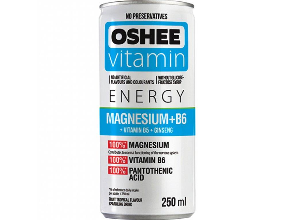 Oshee Vitamin Energy MagnesiumB6 250mL