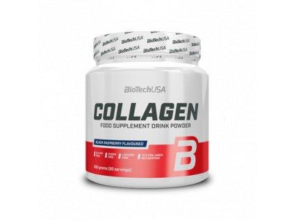 Biotech USA Collagen čierna malina 300 g