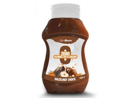 GymBeam Bezkaloricky sirup Hazelnut Choco 350 ml