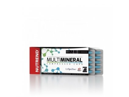 Nutrend Multimineral Compressed Caps 60 kapsúl