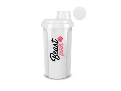 BeastPink Šejker BeastPink biely 700 ml