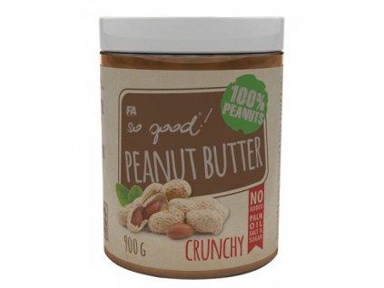 Arašidové maslo: Peanut Butter od Fitness Authority 900g