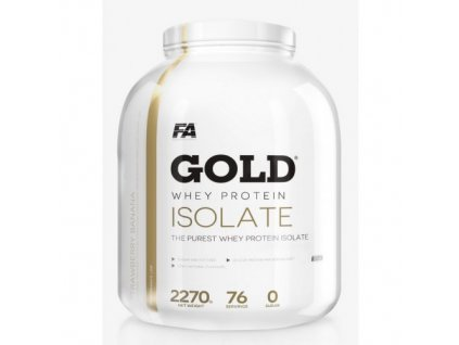 Gold Whey Isolate - Fitness Authority 2270g čokoláda