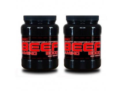 1+1 Zadarmo: Amino BEEF 5000 od Best Nutrition 250tbl+250tbl