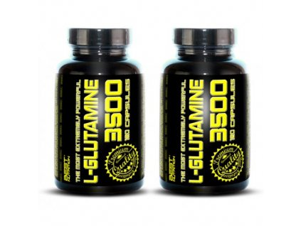 1+1 Zadarmo: L-Glutamine od Best Nutrition 120tbl+120tbl