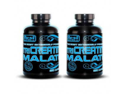1+1 Zadarmo: TriCreatin Malate od Best Nutrition 250tbl+250tbl