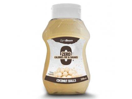 coconut balls syrup