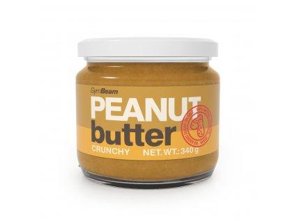 peanut butter crunchy 340 g gymbeam