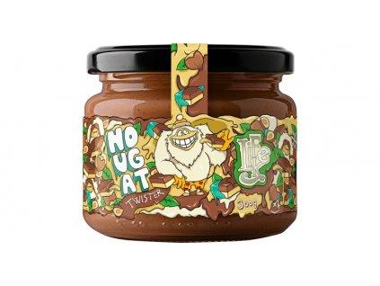 lahodne lieskovo orieskove maslo s kakaom a kokosovym cukrom nougat twister lifelike 300 g fbadvert