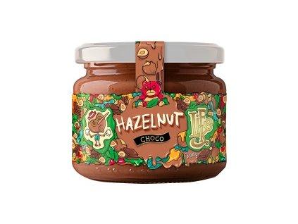 lahodne maslo vyrobene z lieskovych orieskov a 100 cokolady bez pridaneho cukru a palmoveho oleja lieskovoorieskove maslo s cokoladou lifelike 300 g detail